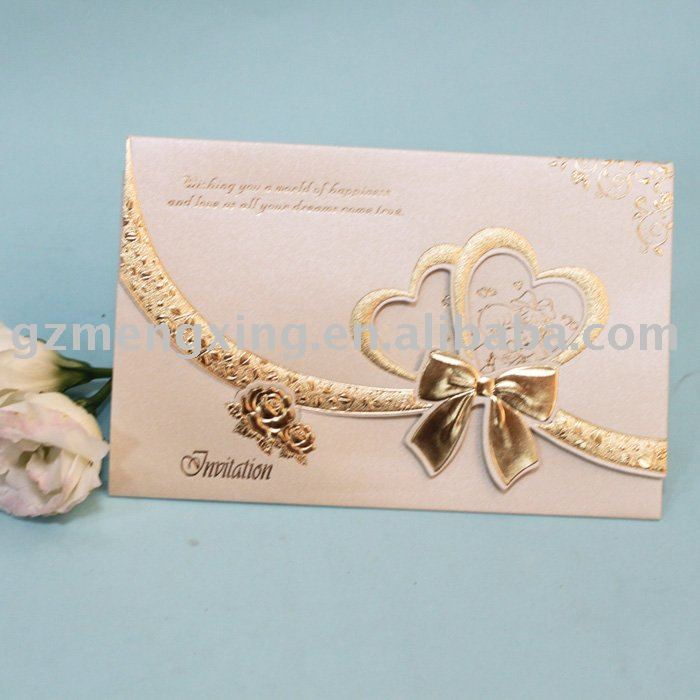 Nice Wedding Invitation Cards Designs