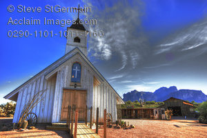 12 Fonts Old West Church Images