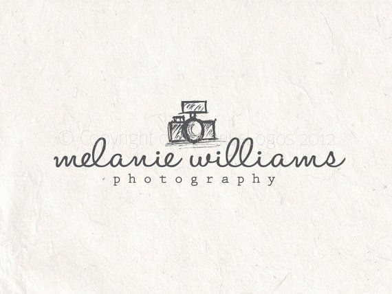 Photography Camera Logo Design