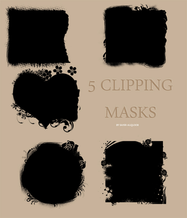 14 Free Psd Clipping Mask Images