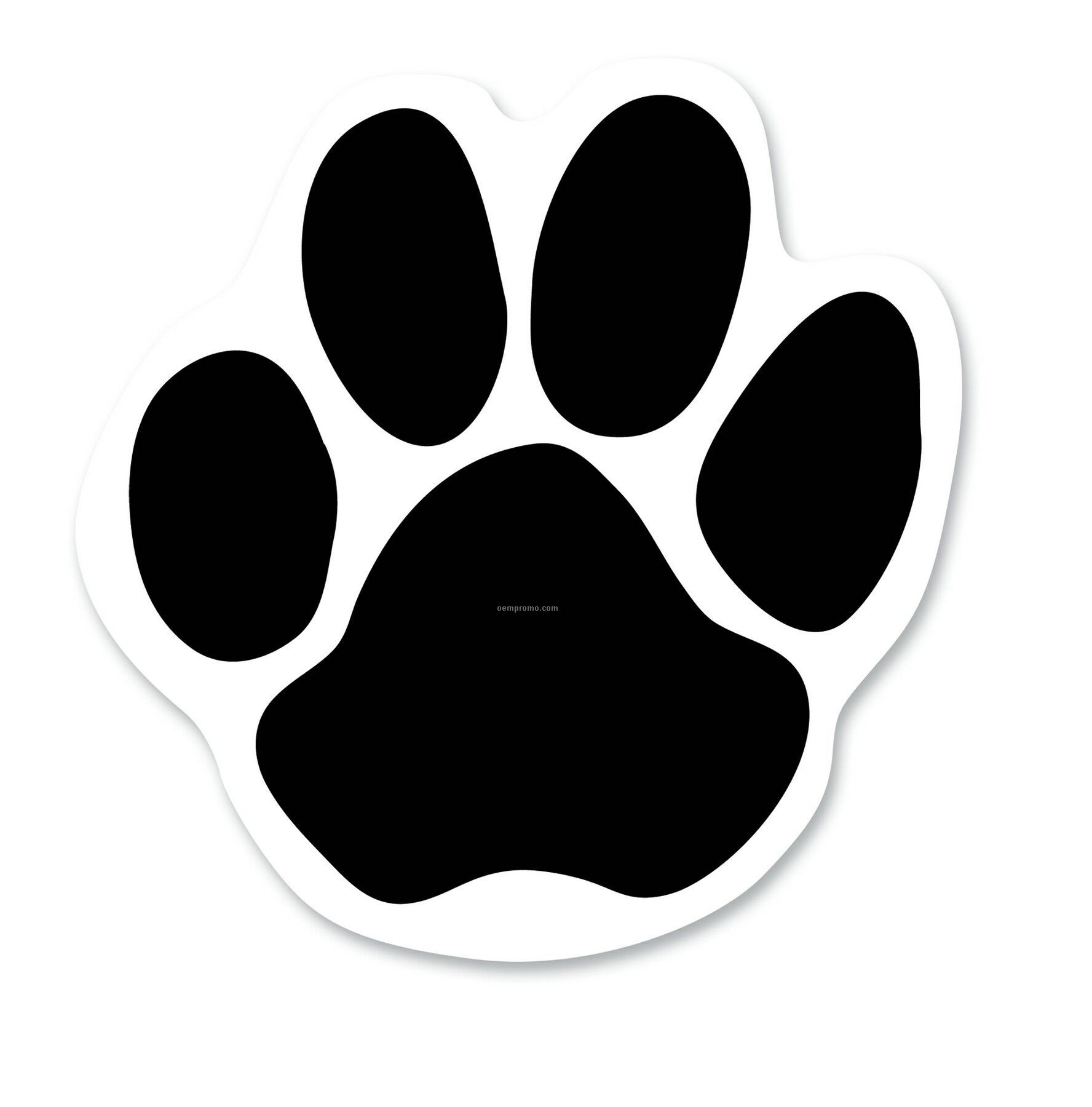 graphic relating to Printable Paw Prints named 11 Paw Print Impression Shots - Red Paw Print Clip Artwork