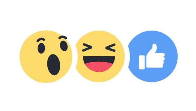 Reaction New Facebook Icons