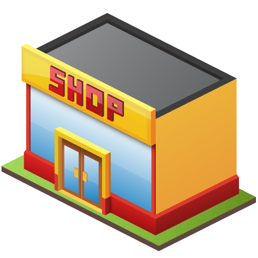 12 Store Icon PNG File Images