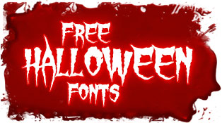 Scary Halloween Fonts Free