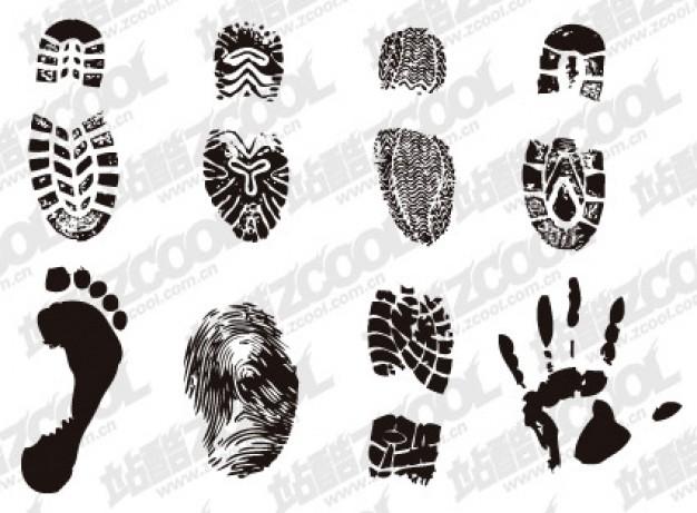 7 Jordan Shoe Print Vector Images