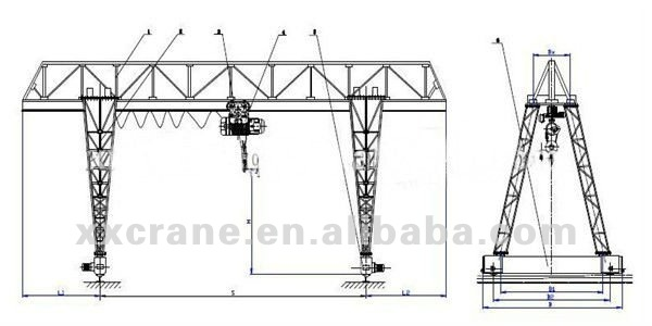 10 crane truss design images