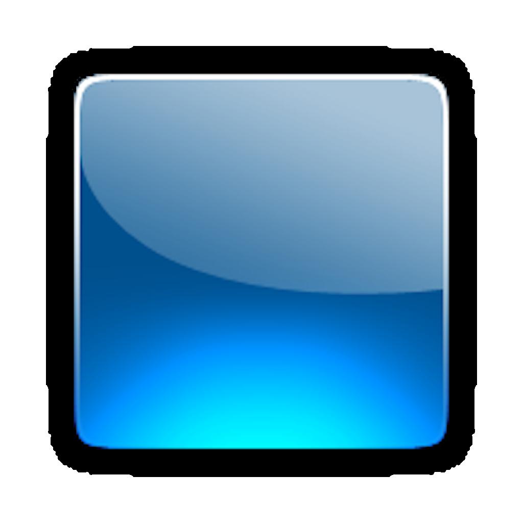 15 Blue 3D Button Iconpng Images Rectangle Clip