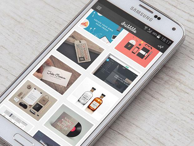Template Samsung Galaxy S5