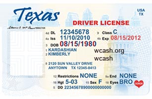 16 Driver License Template Photoshop PSD Images