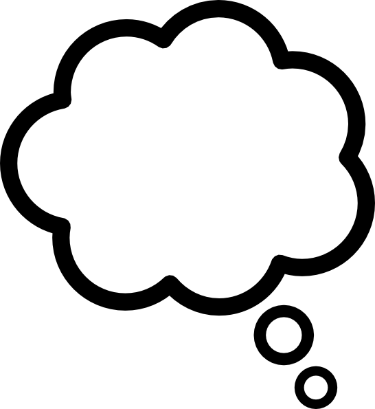12 Thought Cloud Icon Images