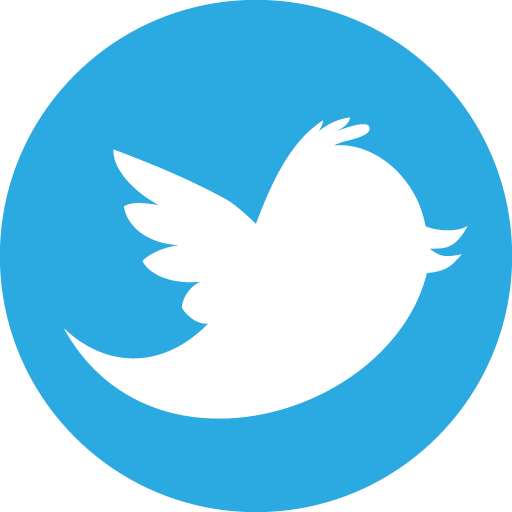 8 Round Twitter Icon Images
