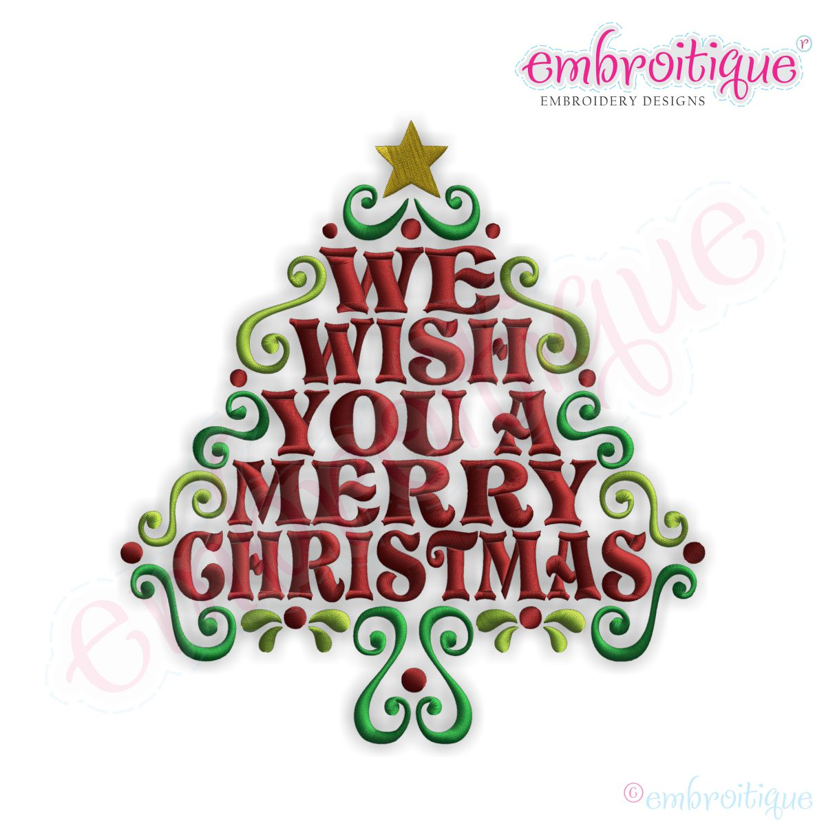 We Wish You a Merry Christmas Designs