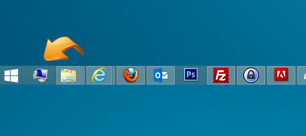 13 Windows 8 Taskbar Icons Location Images