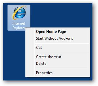 Windows Internet Explorer Desktop Icon