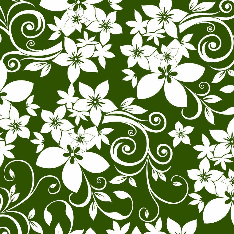 Abstract Floral Design Vector Ornaments