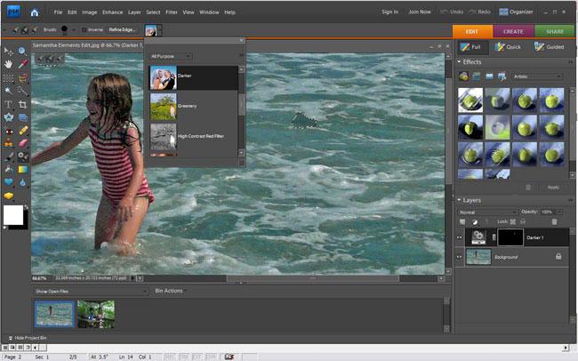 5 Adobe Photoshop Elements 7 Images