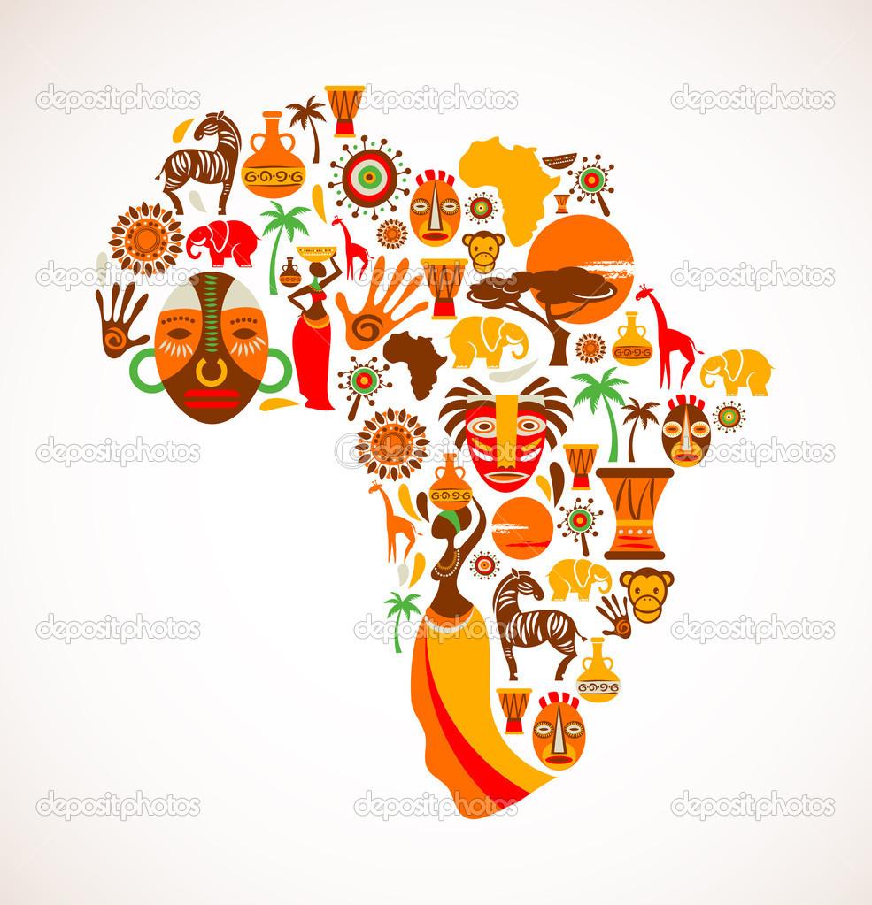 Africa Map Clip Art