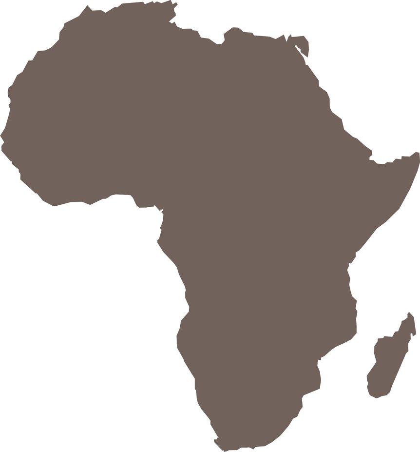 Africa Silhouette Clip Art