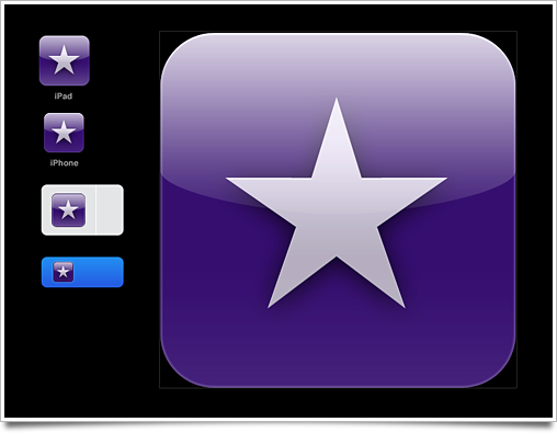 Apple App Icon Template