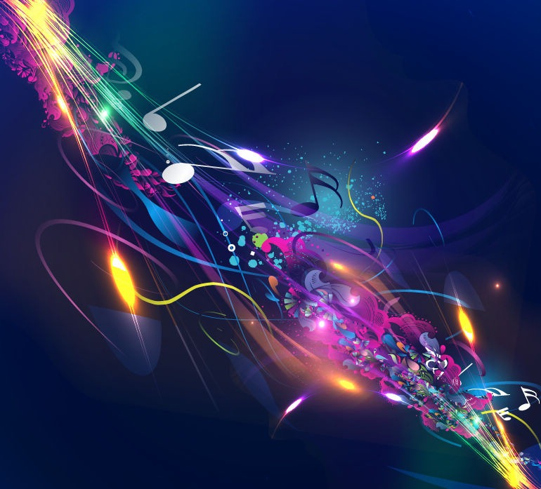 18 Music Background Designs Images