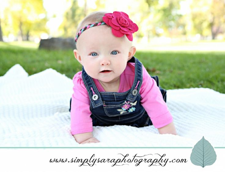 Baby Girl Outdoor Picture Ideas