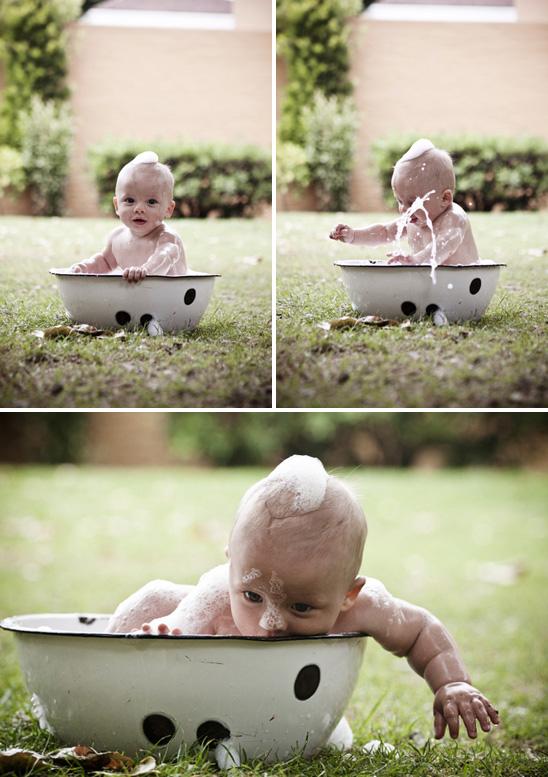 Baby Outdoor Photo Shoot Ideas