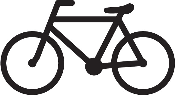 14 Bus And Bicycle Icons Images