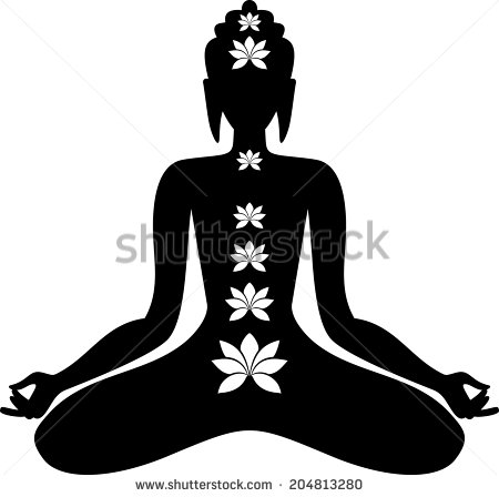 6 Buddha Sitting Vector Images