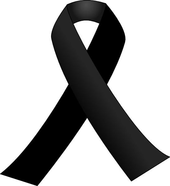 13 Black Awareness Ribbon Vector Images