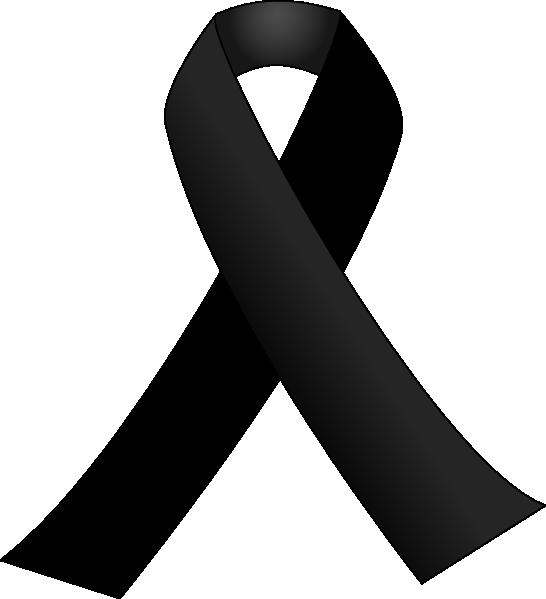 13 Black Awareness Ribbon Vector Images