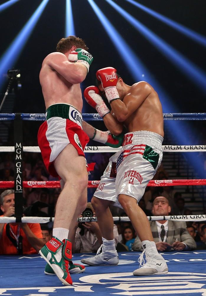 Boxing Canelo Alvarez
