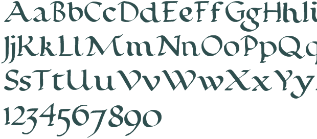 Calligraphy Font Downloads