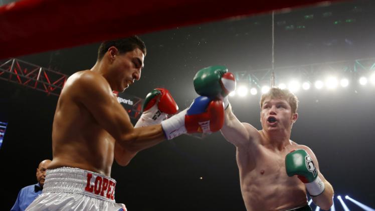 Canelo Alvarez Boxing Matches