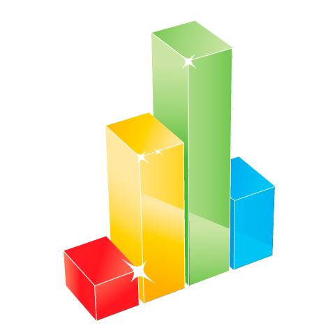 10 Growth Chart Vector Icon Free Images