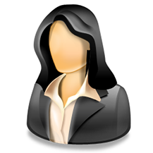 18 Woman Manager Icon Images