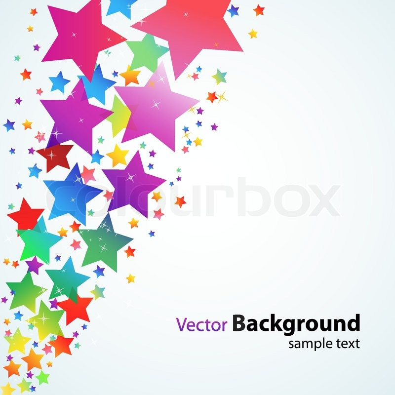 13 colorful star vector images colorful abstract stars