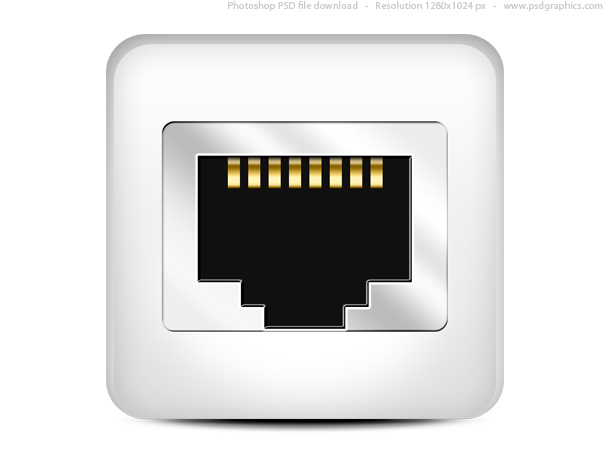 7 Network Port Icon Images