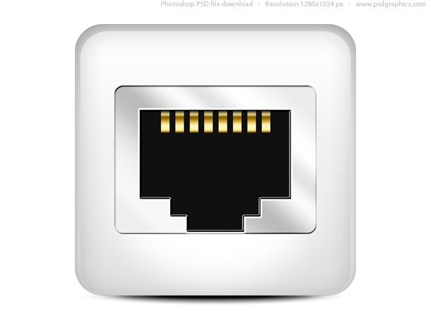 7 Network Port Icon Images Computer Network Port Ethernet Port
