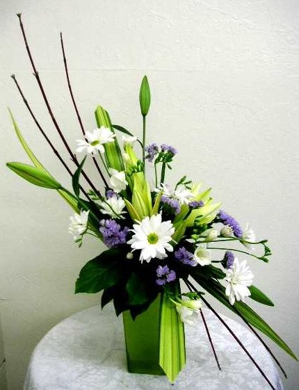 Contemporary Floral Design Arrangements