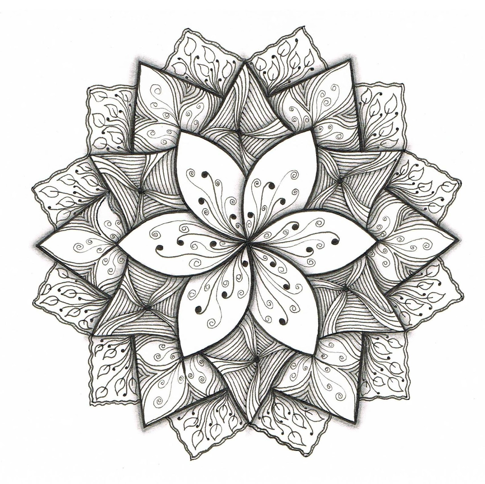 Cool Easy Drawing Patterns