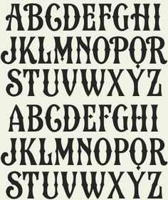 Country Western Fonts