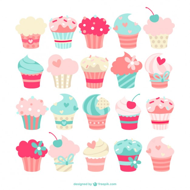 Cupcake Vector Free Download