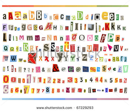 Cut out font exercises to do at home cut out font spiritdancerdesigns Choice Image