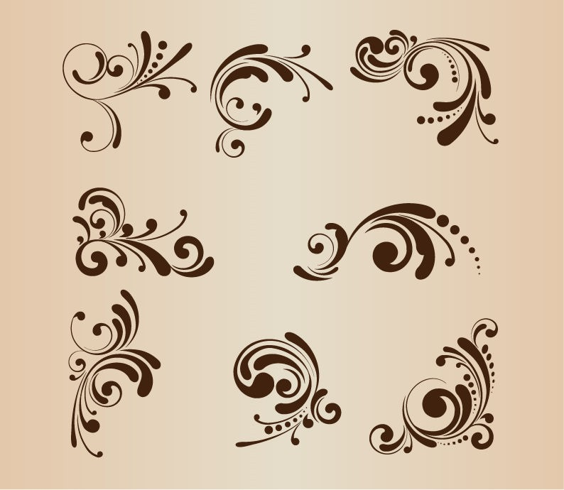 Design Floral Vector Pattern