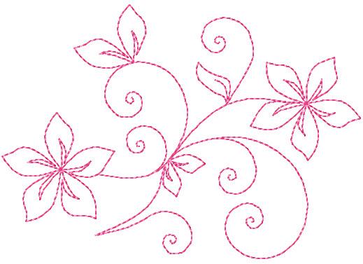 Easy Draw Swirls Designs