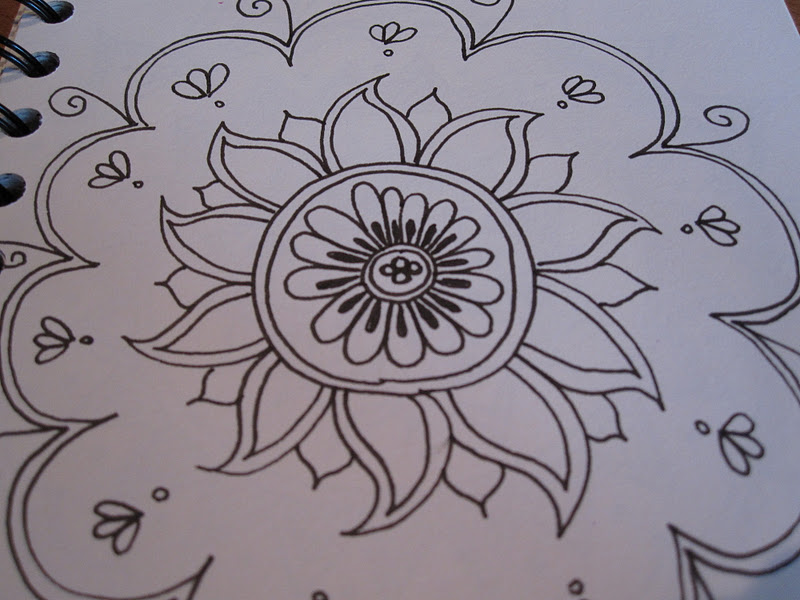 15 To Draw Simple Patterns And Designs Images - Sunflower ...
