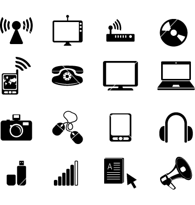 14 Semiconductor Icon Vector Images