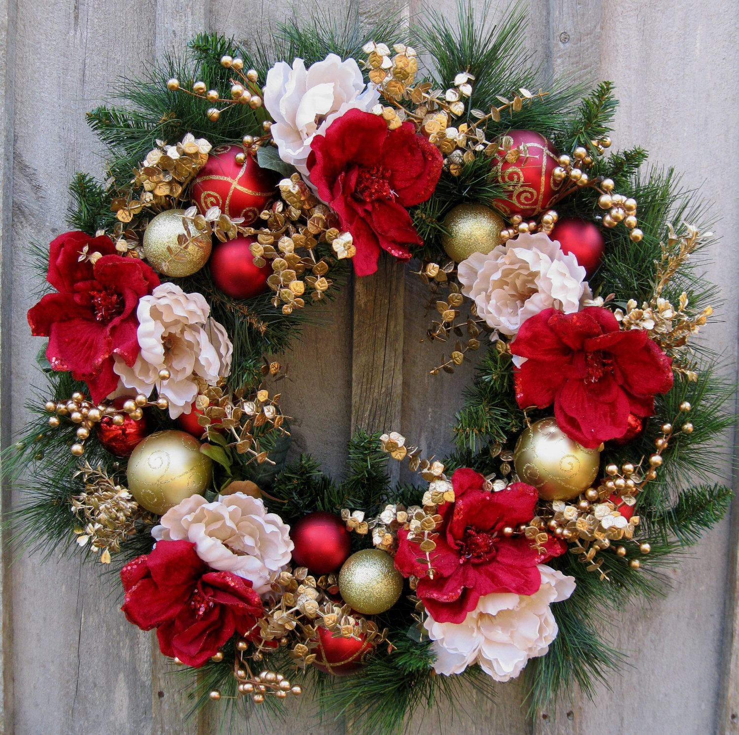 elegant christmas wreath - Elegant Christmas Wreaths