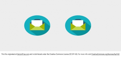 Email Icon Vector Free Download