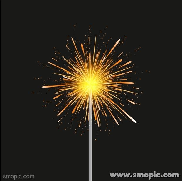 Firework Banner Template